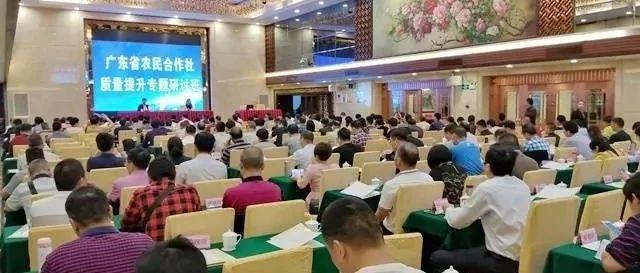 全面开展农民合作社质量提升工作!广东省农民合作社质量提升专题研讨班在清远召开