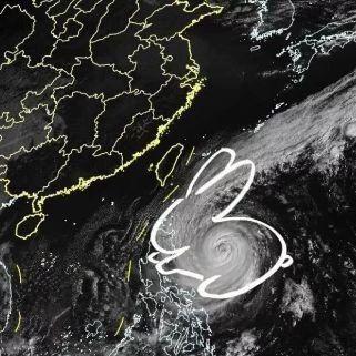 """台风黄色预警!""""暴力兔""""进入24小时警戒线,冷空气杀到,猛烈暴雨将大闹华南"""